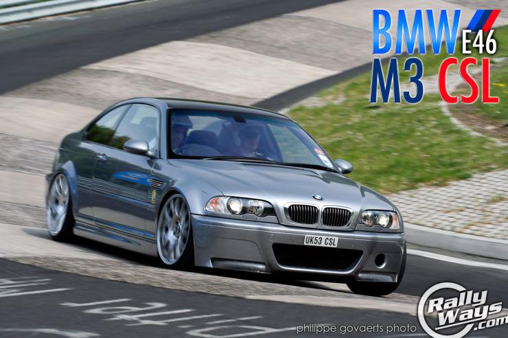 Extraordinary BMW E46 M3 CSL