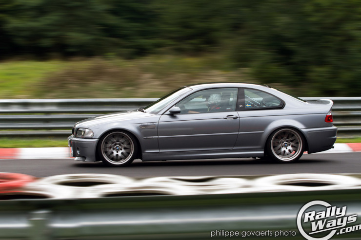 BMW E46 CSL Steilstrecke Curve Nürburgring