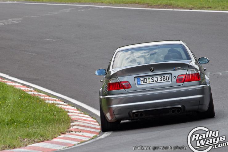 BMW M3 CSL at Hocheichen - Nordschleife