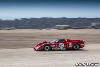 Chevron B16 Race Car at Coronado Speed Festival