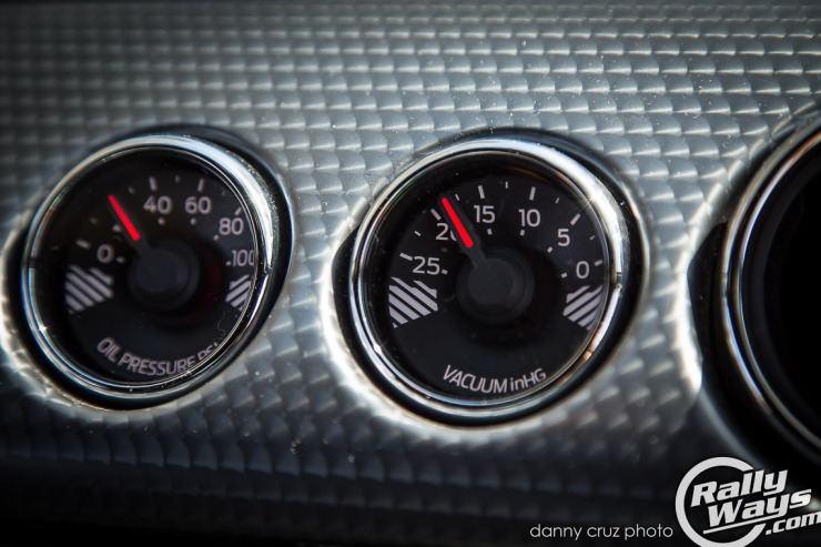 S550 Performance Package Gauges