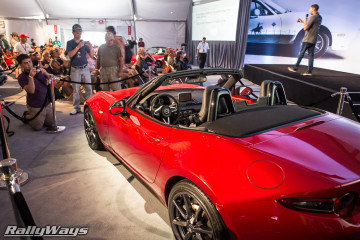 ND Miata electric power steering is something new.