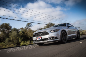 New 2015 Ford Mustang Rolling Shots