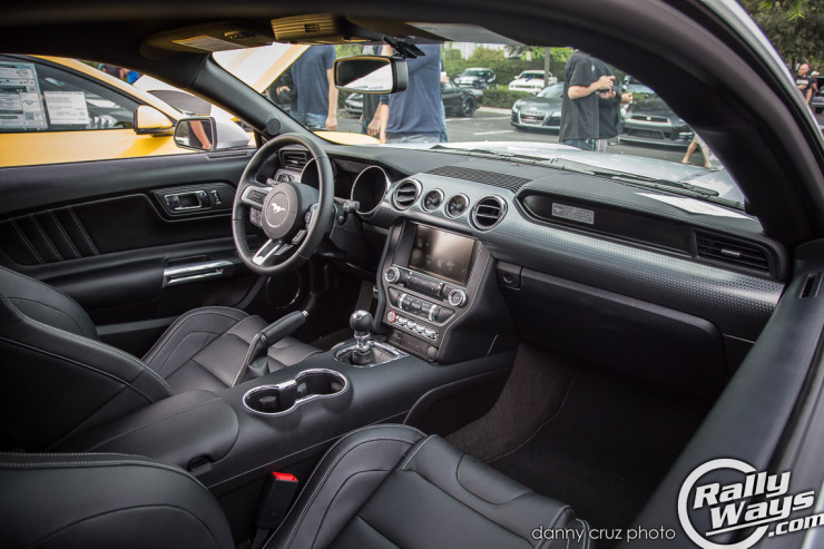 New S550 Mustang Interior