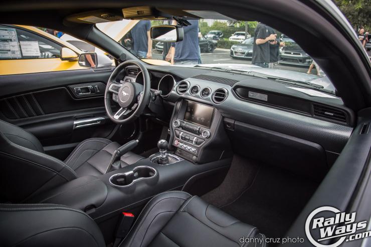 New S550 Mustang Interior