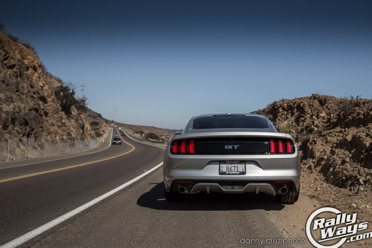New S550 Mustang Rear View