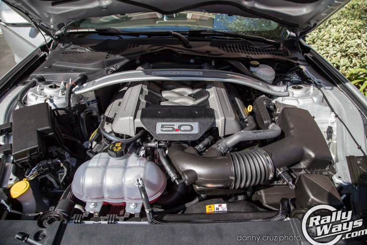 S550 Mustang 5-Liter V8 Engine Bay