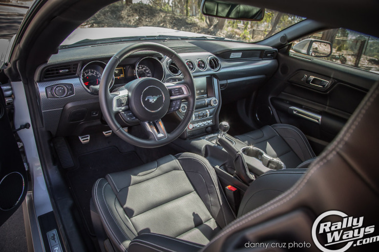 New S550 Mustang Interior -  2015 Mustang Review