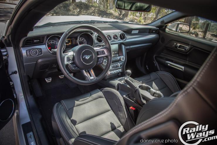 New S550 Mustang Interior -  2015 Mustang Review