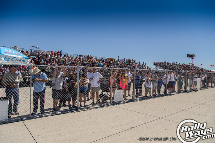 Coronado Speed Festival Packed Stands