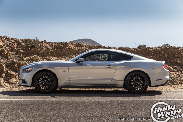 S550 Ford Mustang Side Profile Shot