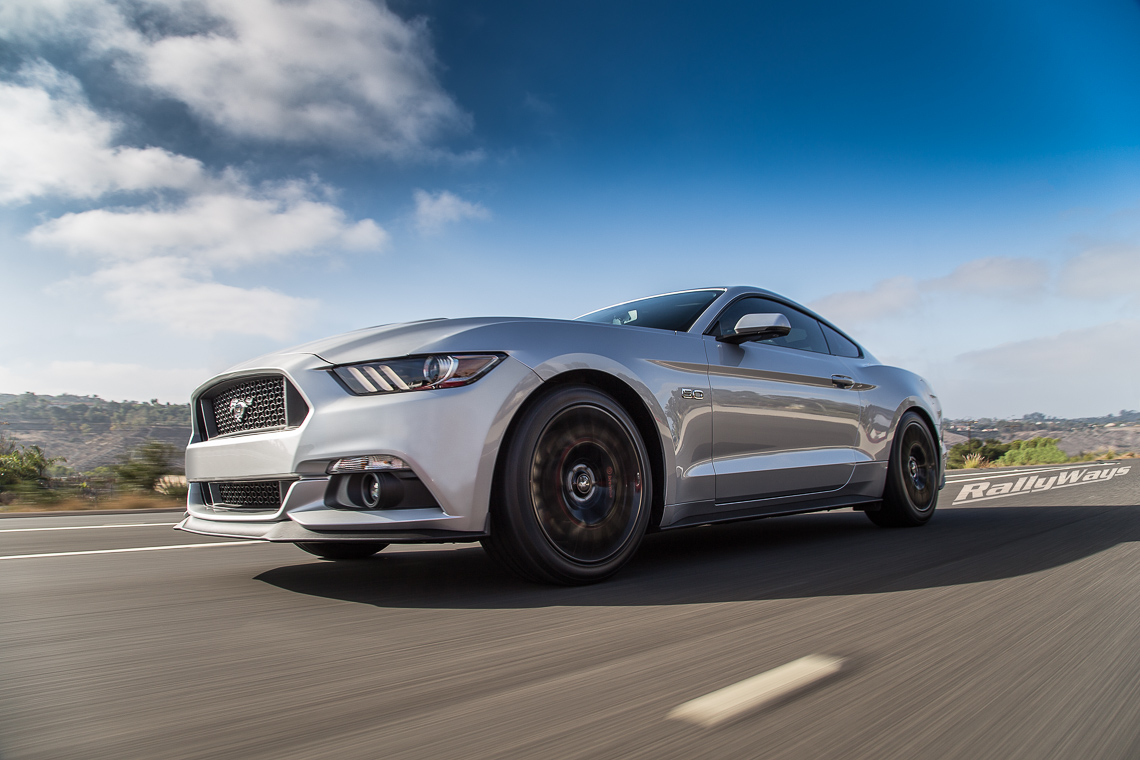 S550 Mustang Rolling Shot - RallyWays Automotive Photography Portfolio