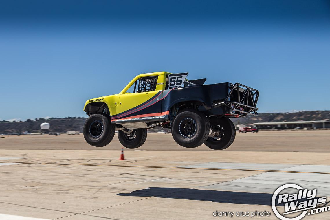 Toyo Tires Stadium Super Truck Jump