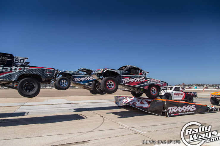Traxxas Stadium Super Trucks Jumping