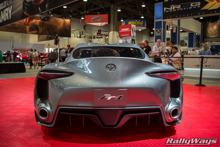 Toyota FT1 Rear End