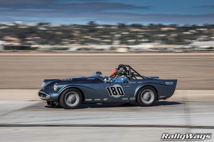 1962 Daimler SP250 Roadster Racing