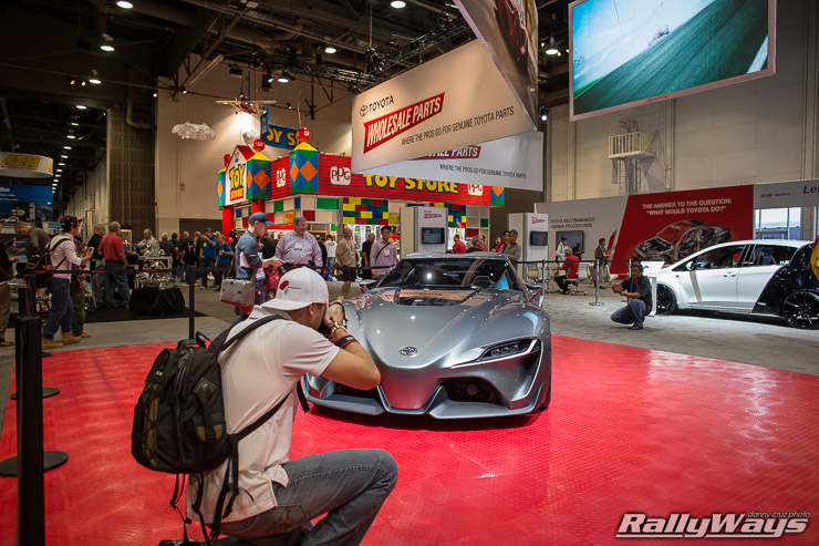 Toyota FT1 Concept Being Photographed
