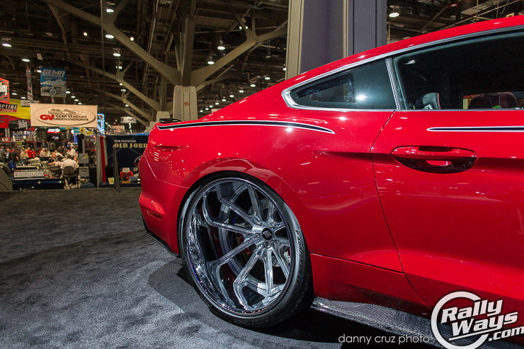 Mustang Big Wheels Deep Dish 2015 Mustang Wheels