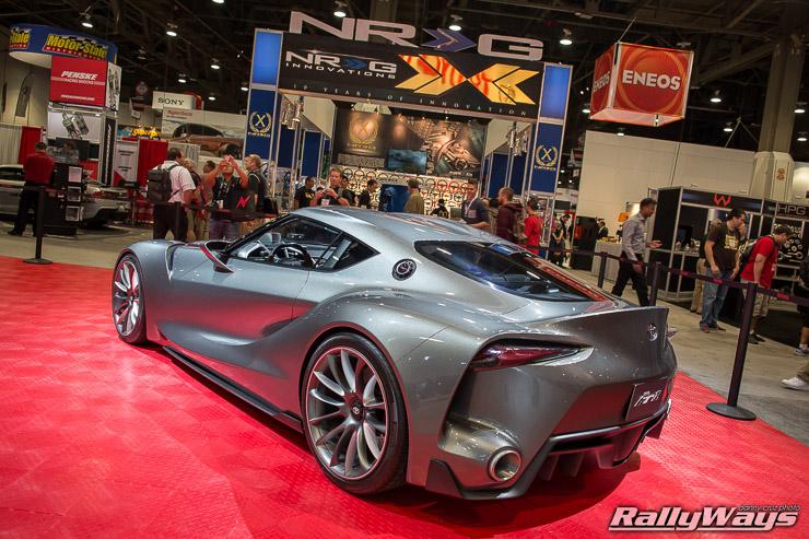SEMA 2014 Toyota FT1 Concept Car