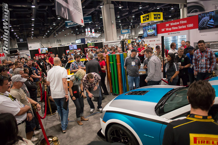3M Wrap2Wrap Battle Final at SEMA 2014