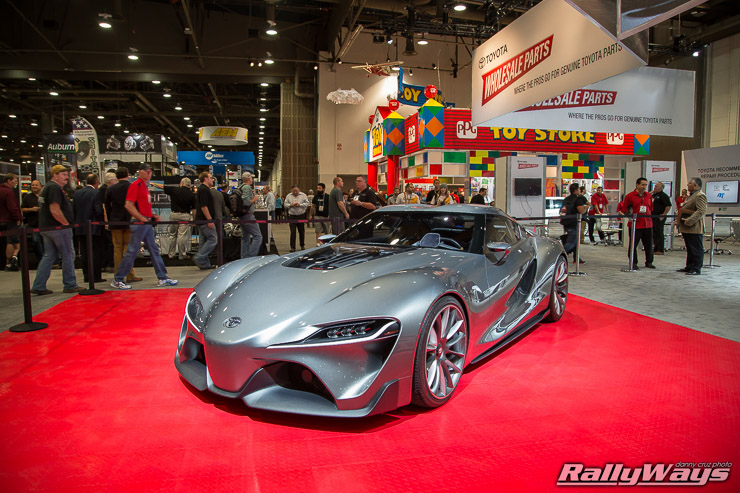 Toyota FT1 Concept at SEMA 2014
