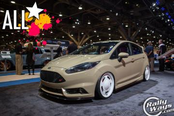 All Star 2014 Ford Fiesta ST SEMA 2014 Build