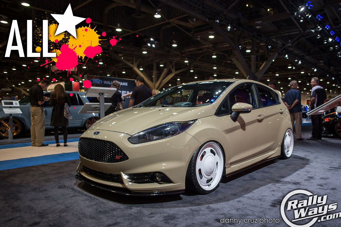 Tjin Edition All Star Fiesta ST Build