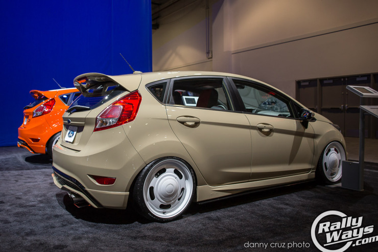 All Star Ford Fiesta ST Build Side View