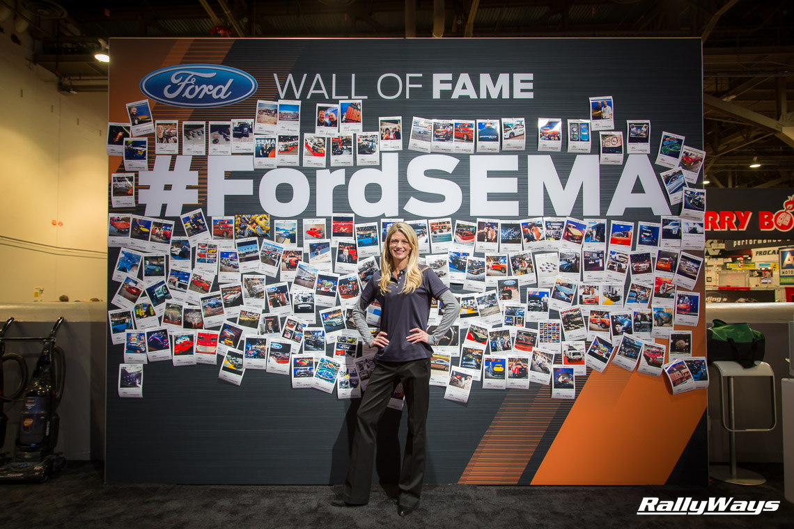 Ford SEMA Instagram Wall of Fame