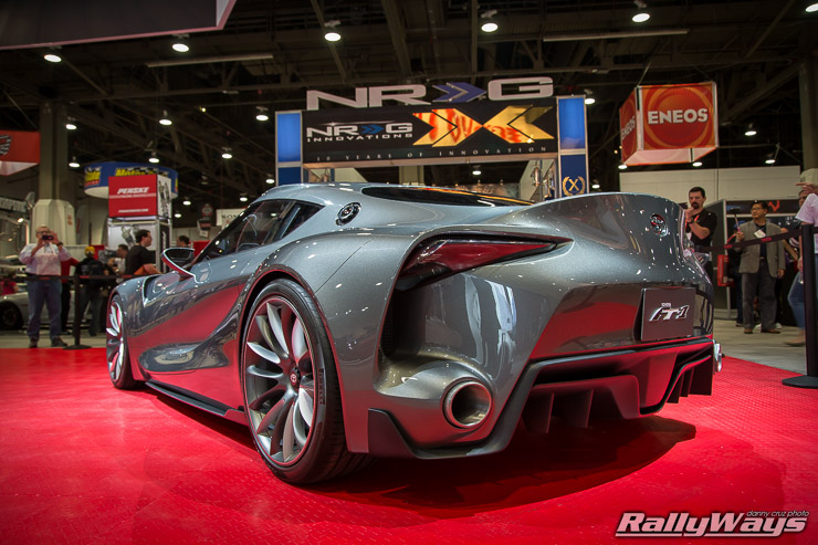 Sema Toyota Ft1 Concept Close Look Rallyways