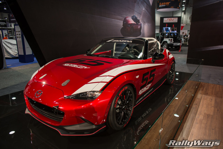 Global MX-5 Cup Car
