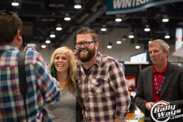 Jessi Combs and Rutledge Wood 3M Wrap Battle Judges