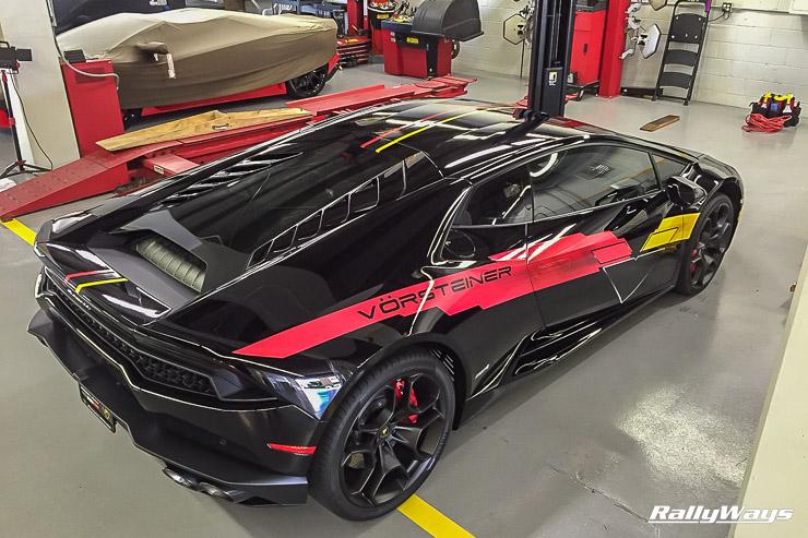 Vorsteiner Lamborghini Huracan Graphics by KI Studios