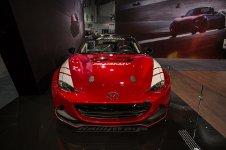 Mazda Global MX-5 Cup Car Debuts at SEMA