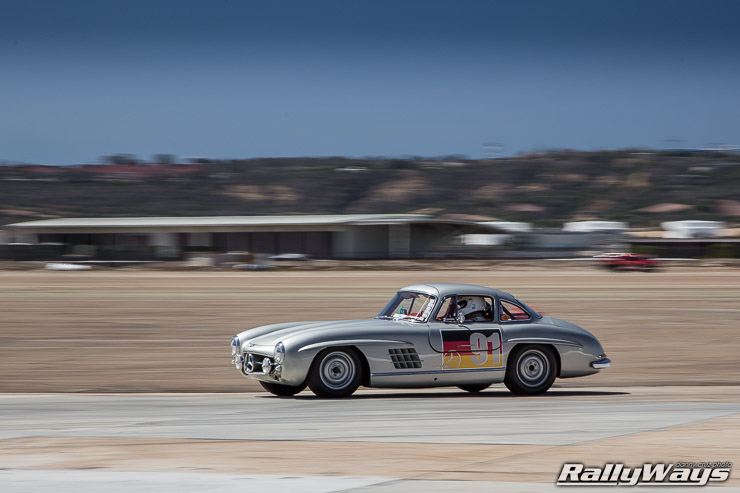 Mercedes 300SL Gullwing Race Car