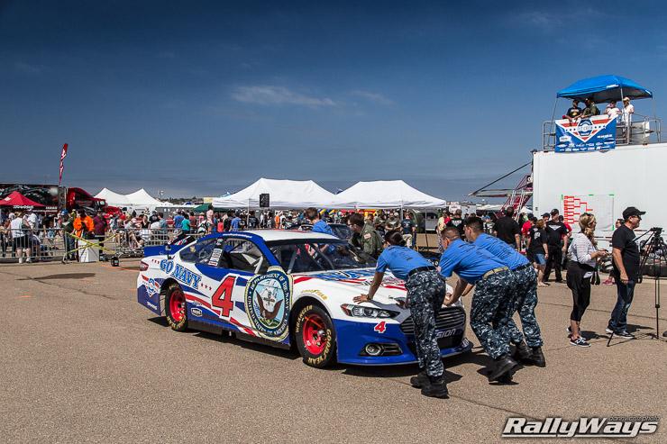 NASCAR Pit Crew Challenge at Coronado Speed Festival 2014