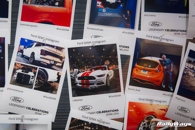 RallyWays Instagram Ford SEMA Wall of Fame