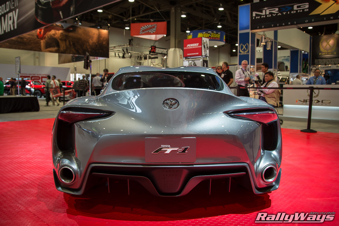 SEMA Toyota FT1 Concept Close Look - RallyWays