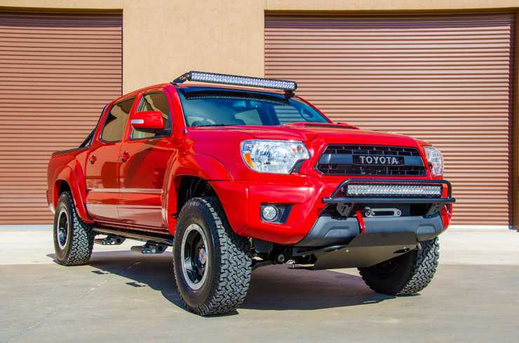N-Fab Toyota Tacoma TRD Pro