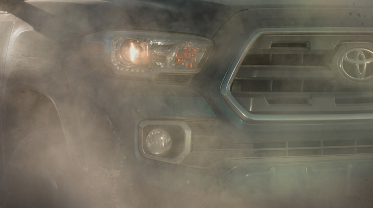 2016 Toyota Tacoma Generation 3 Teaser Grille