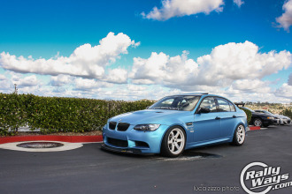 E92 BMW M3 Blue