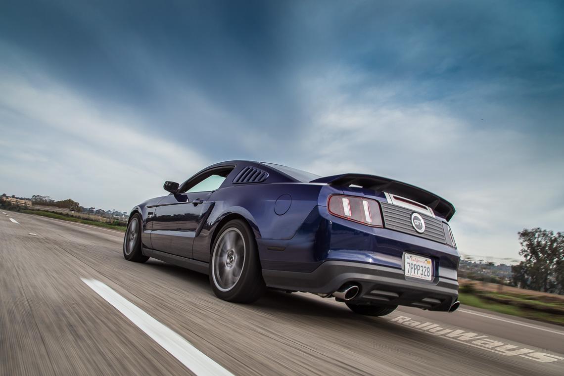 Dani Devor Mustang S197 Rolling Shot