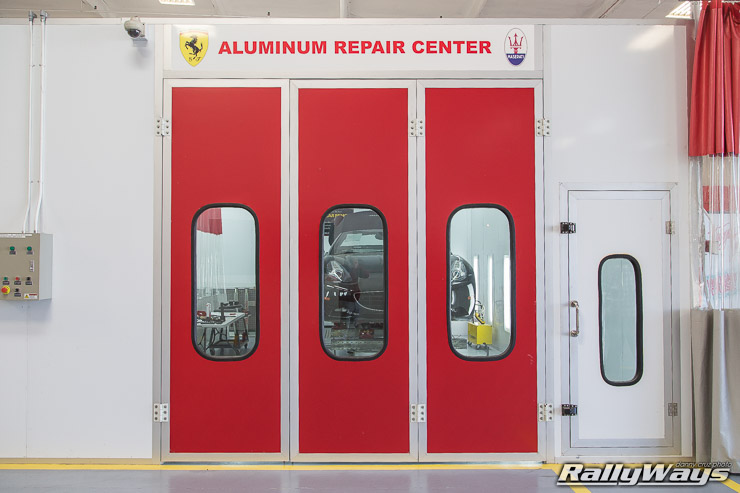 Ferrari Aluminum Repair Center - Ferrari California