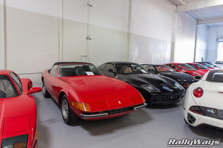 Ferrari Daytona Service