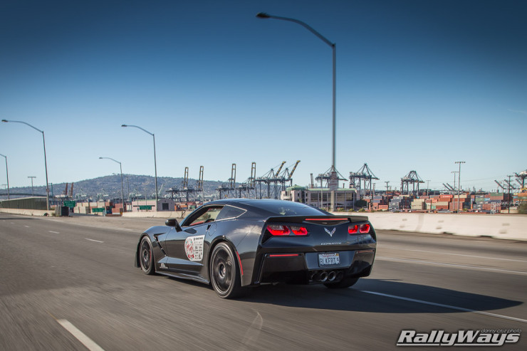 Fusion of Ideas C7 Corvette Rolling Shot