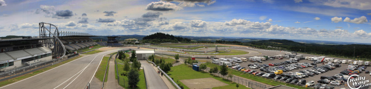 Panorama of the Nürburgring Grand Prix Course