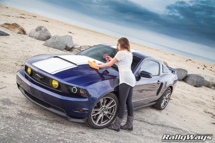 Meguiar's Quik Detailer Mustang