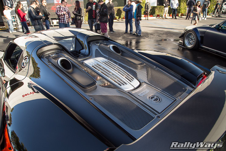 Porsche 918 Spyder Rear Deck