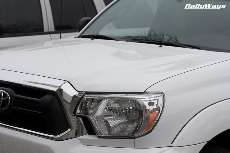 Tacoma Super White Waxed Front End
