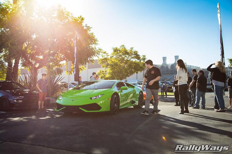 Verde Mantis Lamborghini Huracan